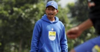 Djadjang Nurdjaman yang menjadi pelatih Persib