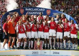 Musim 2003/2004, Musim Yang Suci Untuk Arsenal
